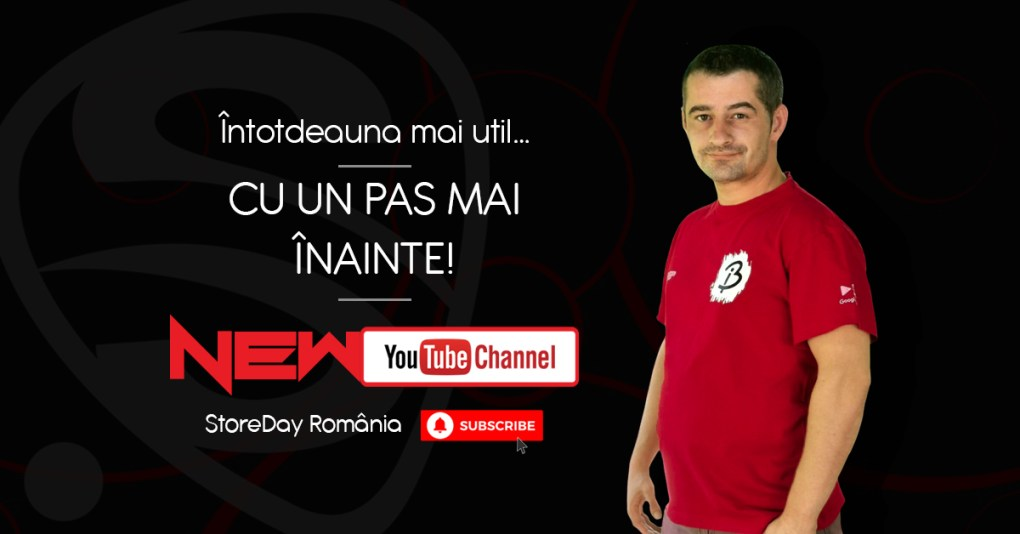 New Channel Youtube Storeday România