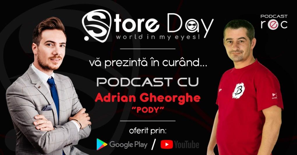 Podcast Cu Adrian Gheorghe Oferit De Storeday România