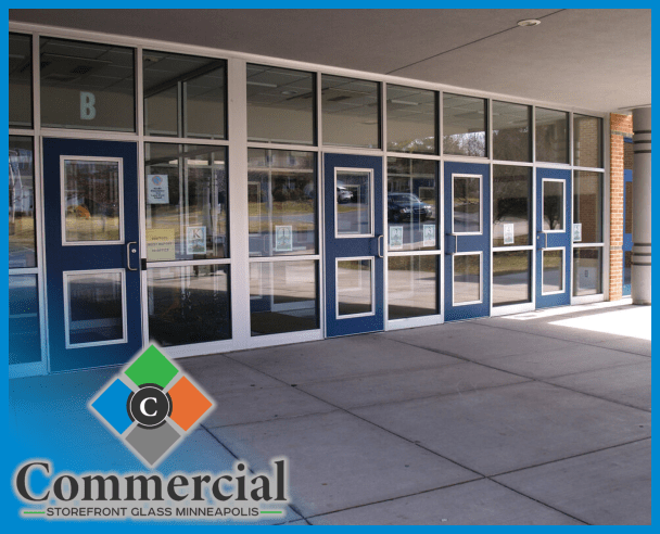 83 commercial storefront glass minneapolis repair install glass door repair 2