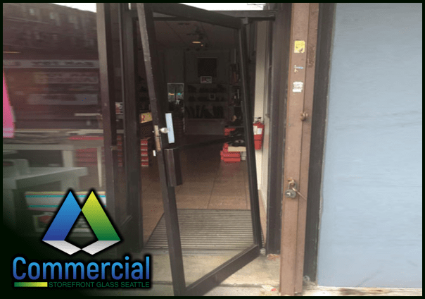 84 commercial storefront glass seattle repair install door repair 1