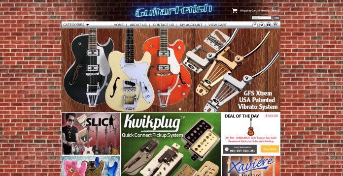 guitarfetish 3dcart