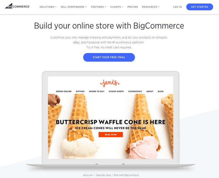shopify vs bigcommerce features
