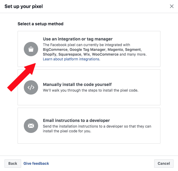 Use Integration Manager