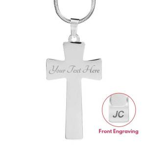 ShineOn Jewelry Cross Engraving