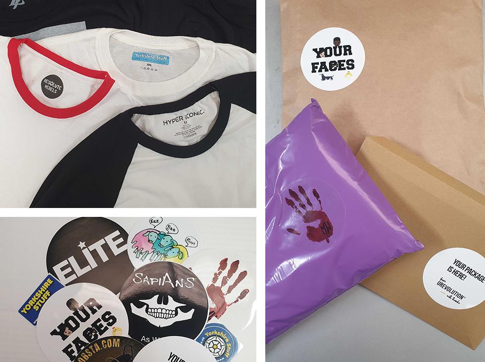 Custom Garment Package Branding