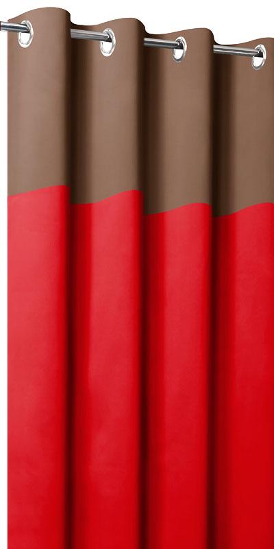 Rideaux Occultants Bicolores Tte Chocolat