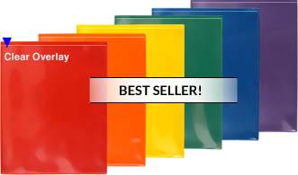 StoreSMART Folders 2 Pocket Plastic