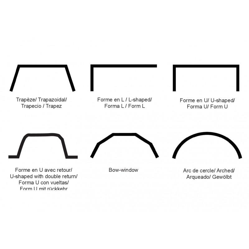 rail flexible toso
