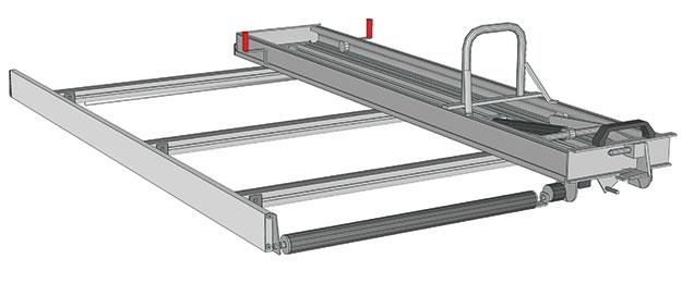 ladder and roof racks for nissan nv200 store van
