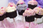 Geburtstag Feier Cupcakes Stil