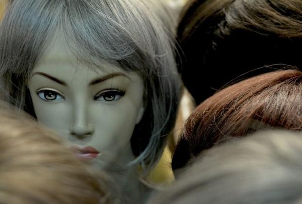 Haare Perücken Köpfe Haarteile