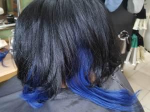 Tri-Tec Color-Spots blau Haare