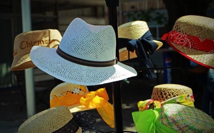 verchiedene Hüte