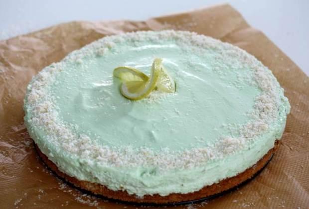 Kokos Limetten Torte Kuchen Cake Rezept