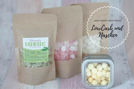 LowCarb und Naschen - Süßigkeiten ohne Zucker