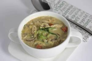Cremige Hähnchen Suppe Rezept