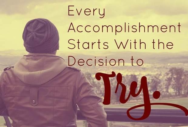 Du musst nicht - Du willst! Motivation