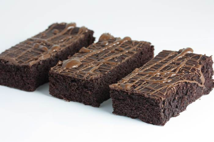 LowCarb - saftige Brownies-Rezept-low carb-Schokolade