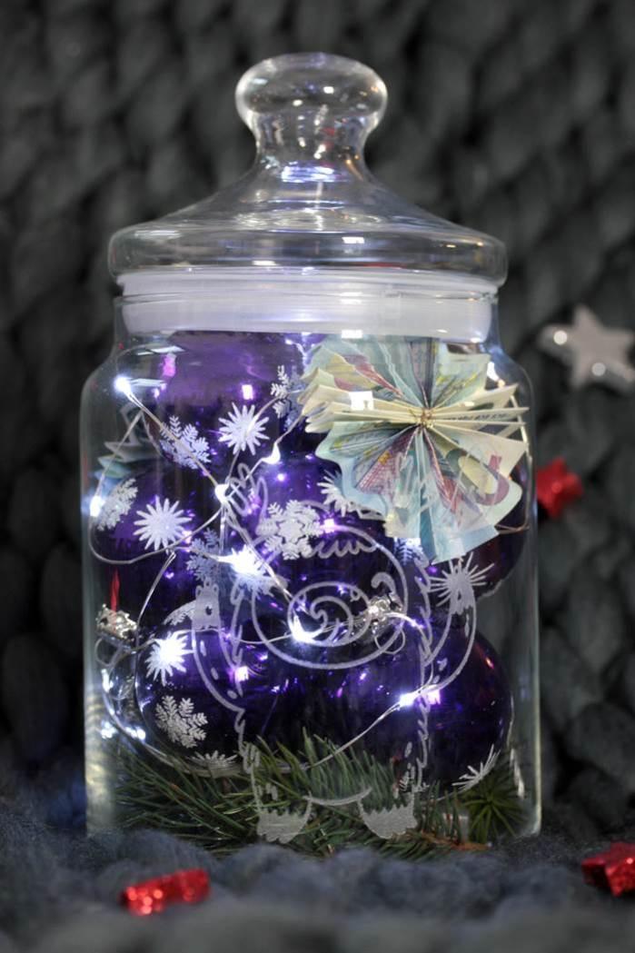 Geldgeschenke Im Glas Zu Weihnachten Ein Einfaches Diy Storfine