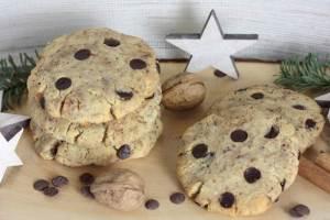 Zimt-Nuss-Cookies-lowcarb-low carb-Plätzchen-Weihnachten