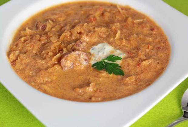 Sauerkraut-Suppe low carb-Sauerkrautsuppe-lowcarb-Rezept