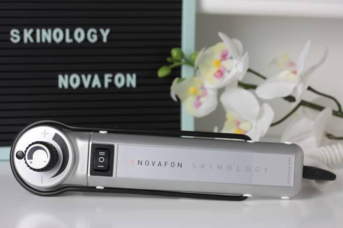 Skinology-Novafon-Schallwellengerät-Beauty Routine-Abendritual