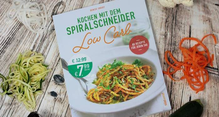 Kochen mit dem Spiralschneider-Rezension-Kochbuch