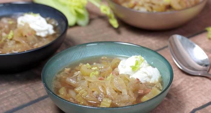 Zwiebelsuppe-low carb-Rezept-zuckerfrei