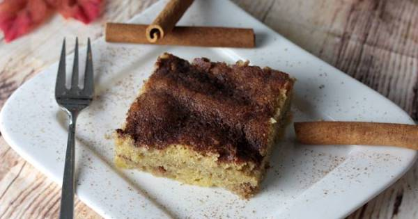 Low Carb Zimtkuchen-Zimtkuchen-lowcarb-zuckerfreier Kuchen