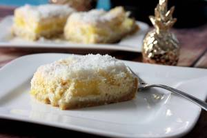 Kokos Ananas Kuchen-Low Carb-lowcarb Kuchen Rezept