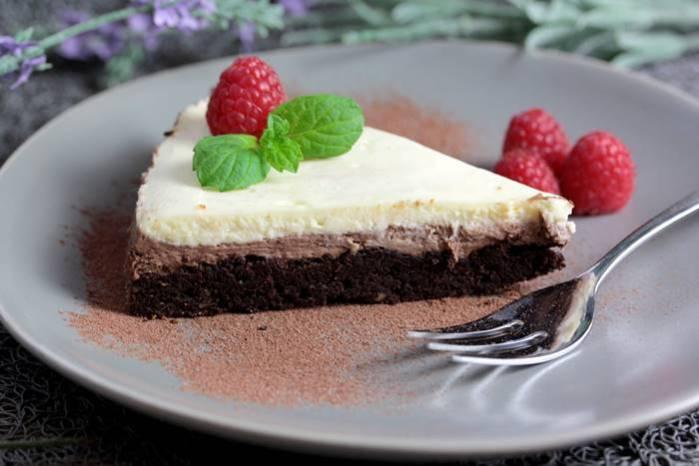 Schoko Mascarpone Torte-Rezept Low Carb Torte