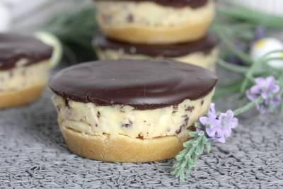 Low Carb Cookies-No Bake Cookie Cups-Kühlschranktörtchen