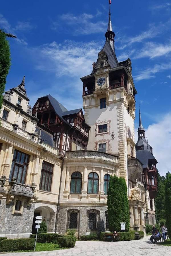 chloss Peles - Märchenschloss-Rumänien