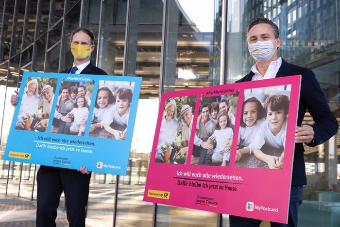 myPostcard-1 Million Postkarten gegen Corona-Aktion