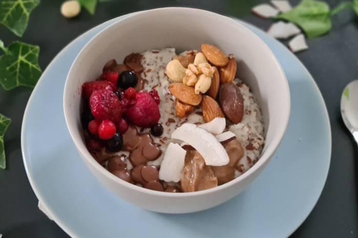 Low Carb Porridge-Frühstück-zuckerfreie Rezepte
