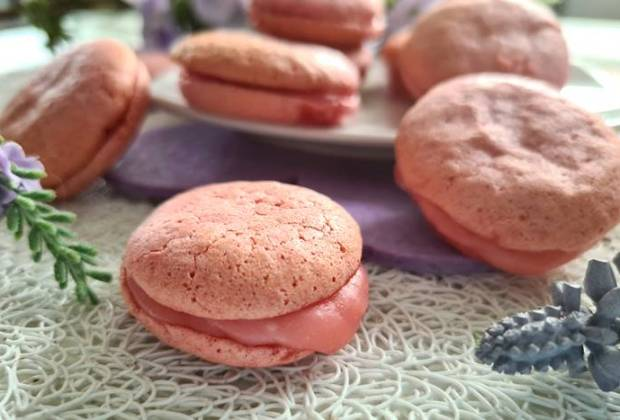 Low Carb Macarons-Himbeer Macarons ohne Zucker