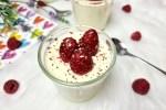 Buttermilch Mousse-Low Carb Dessert