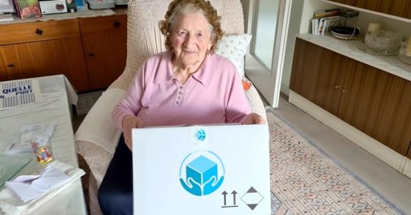 Pflegebox der proSenio Gruppe-PflegeBox-Pflegehilfsmittel