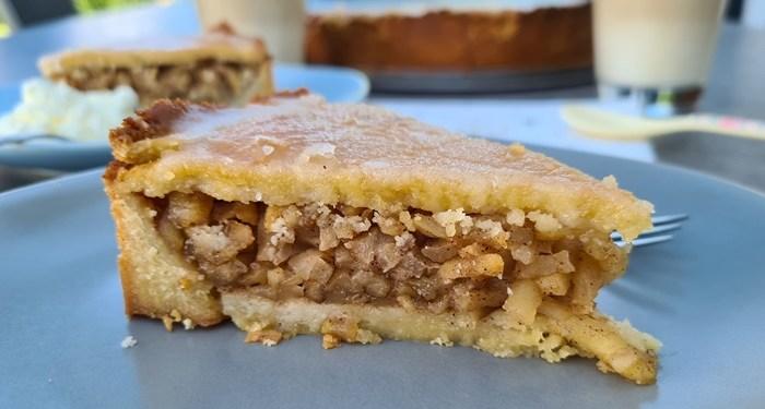 Low Carb Apfelkuchen-gedecketer Apfelkuchen Rezept