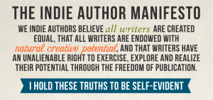 Indie Author Manifesto