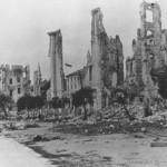 Belgrado dopo i bombardamenti dell'aprile 1941