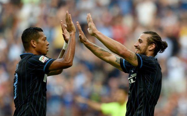 Guarin e Osvaldo probabile coppia d'attacco a Kiev
