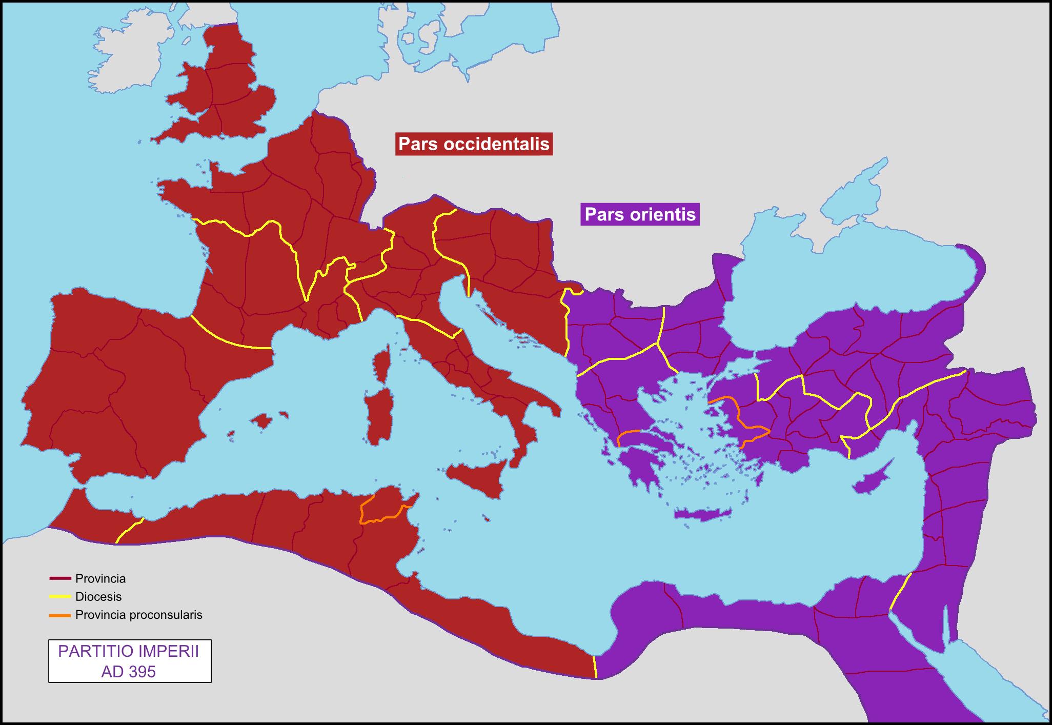 Tema Matrimonio Impero Romano : Accadde oggi gennaio d c separazione tra