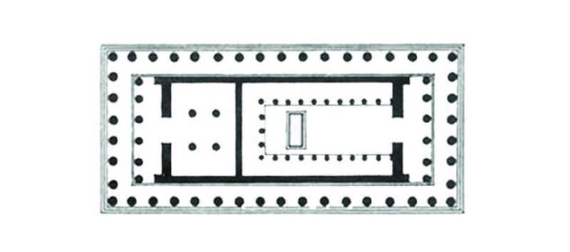 Pianta Partenone