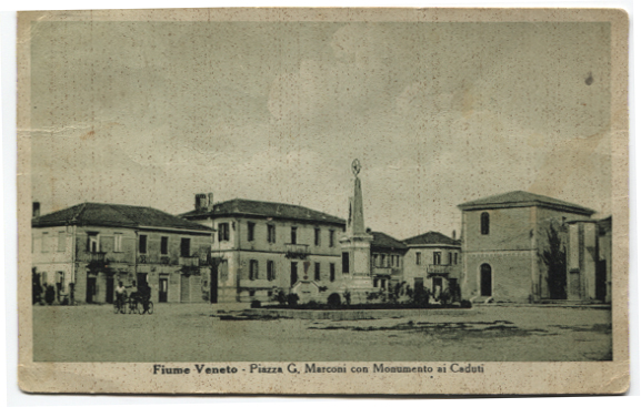 tl Fiume Veneto centro anni cinquanta