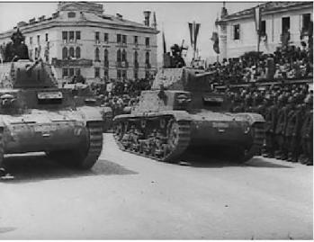 anni '40 piazza xx settembre