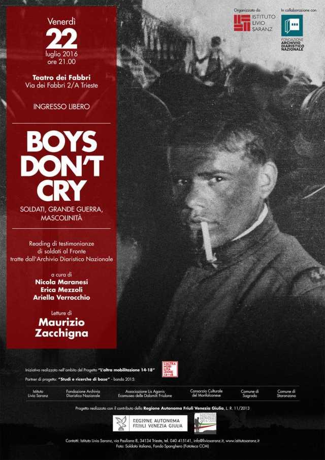 boys don't cry - locandina