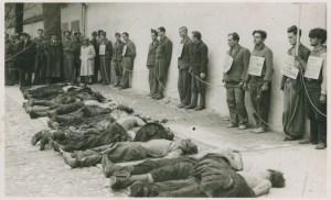 1942: fucilazione di ostaggi in un paese della Slovenia