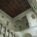 Interno della biblioteca Dèlfico