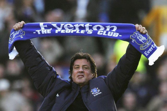 Sylvester Stallone e quella folle passione per l'Everton. Storia di un amore travolgente